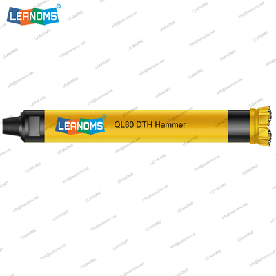 8 Inch QL80 High Air Pressure DTH Hammer With Foot Valve