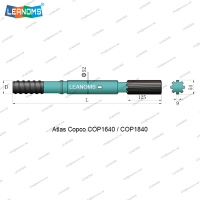 Atlas Copco COP1640/COP1840 Shank Adapter