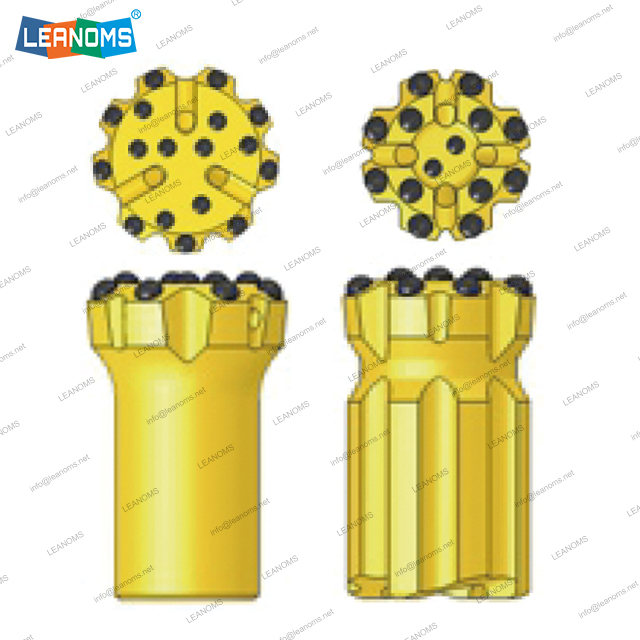 115-152mm Normal Or Retrac ST68 Thread Drilling Button Bits