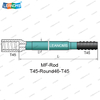 T45-Round46-145 Extension Drilling Rod