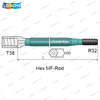 T38-R32 Hex MF Drilling Rod